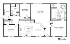 Triple Wide Mobile Home Floor Plans further Clayton Homes furthermore  on ihouse modular home