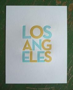 Los Angeles Letterpress
