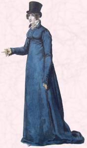 Regency Redingote - Ladies Riding Coat