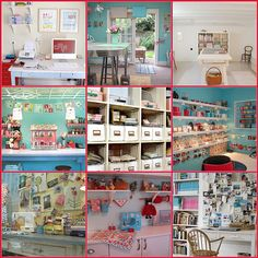 Sewing and Crafting Spaces