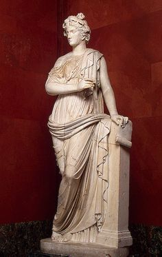 Clio, Muse of History, 2nd century, Roman copy from a Greek original The Hermitage Museum