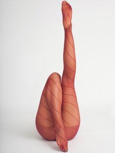 American Apparel - Sheer Spiral Pantyhose