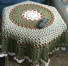 Cotton Tablecloth Doily by NancysCrochet on Etsy, $38.00
