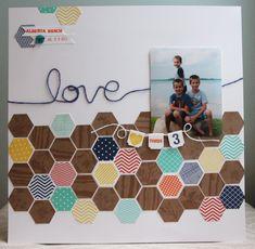 Stampin' Up! Artisan Design Team - July - Six-sided Sampler  Hexagon punch - Amy Bollman