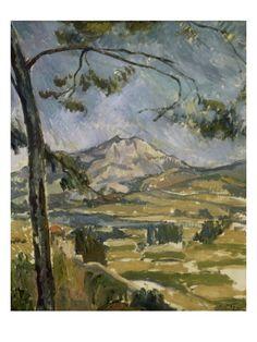 Mt. Sainte Victoire // Cezanne
