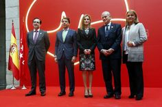 "Queen Letizia attended this morning the presentation of the ""Guía del corazón"""