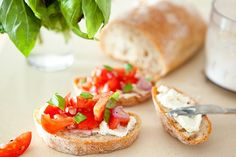 Delicious bruschetta recipe