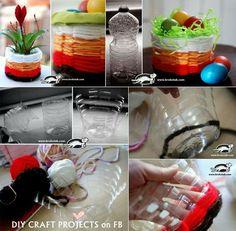 Recycling Plastic Water Bottles Ideas
