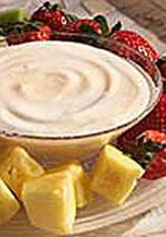 Lemon Yogurt Dip