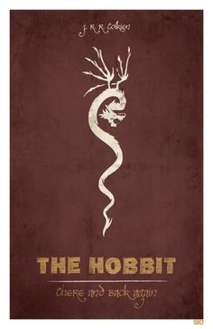 The Hobbit: There and Back Again byJon E. Allen - gorgeous design.