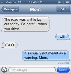 Eh, close enough. | 24 Texts You Don't Want To Get From Your Parents