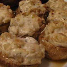 Stuffed Mushrooms on Pinterest | Stuffed Mushrooms, Stuffed Mushroom ...