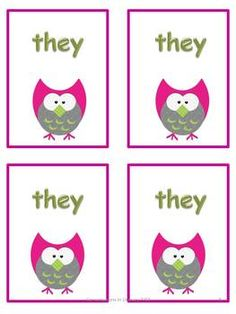 Go Fish sight word game for literacy centers