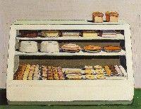 Wayne Thiebaud, 'Bakery Counter' 1962
