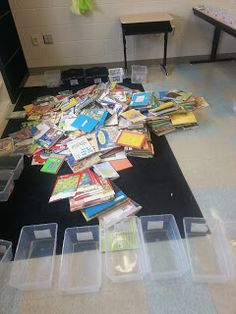 Organizing Book Bins in Your Classroom Library
