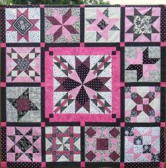 quilt sampler, sew, flickr, star sampler, summer star, quilt top, 2012, 2010, sampler quilts