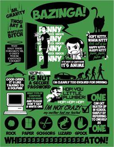 geek, big bang, quotes, bigbang, bang theori, poster, pennies, bangs, kitty
