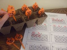 pumpkin themed math: use for addition or subtraction