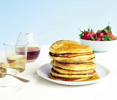 Classic Fluffies - Skinny Pancakes for Your Mother's Day Brunch #SELFmagazine