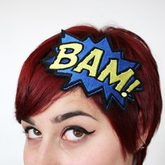My little superheroes will need some cute hero headbands to don their hero heads!  Who says tough can't be cute!