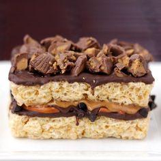 peanuts, pretzel, food, rice krispies treats, krispie treats, krispi treat, chocolate peanut butter, dessert, rice crispy treats