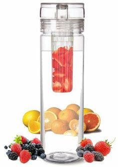 infuser Water Bottle 27 Ounce - The Fun & Healthy Way to Enjoy Your Daily Water. by Infuser Water Bottle, http://www.amazon.com/dp/B0093F9LW6/ref=cm_sw_r_pi_dp_AET0rb0WMXVX8
