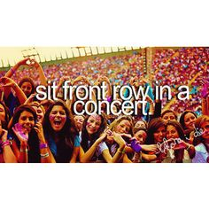 One Direction concert..i wish!