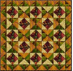 Curl up with this Autumn Joy Quilt with a mug of hot apple cider. An easy sewing project is a great way to relax your nerves before the hectic holiday season. Read more at http://www.favequilts.com/Fall-Quilts/Autumn-Joy-Quilt#0dsbGc6VWYAhr4jM.99