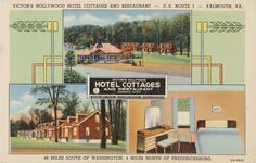 Victor's Hollywood Hotel Cottages, Prints and Photographs, LVA.