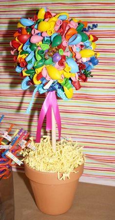 DIY - Baloons tree