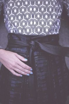 Geo-patterns!  Proenza Schouler -  Aram Bedrossian