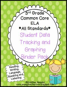 Student Data Tracking! ELA checklists and graphs using Marzano's levels of understanding$!!!