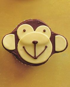 Monkey Cupcake Recipe