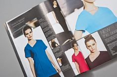Part of our design for Simon Jersey's catalogue