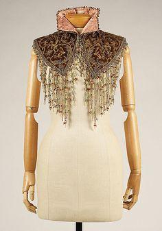Victorian bling. 1875 collar