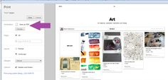 Not sure where to put this so I'll put this here for now.  How to save or print Pinterest boards.