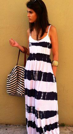 Everyday New Fashion: Letarte Chic Boho Maxi Dress - Boca Leche