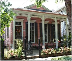 Uptown Cottage - black shutters with white trim