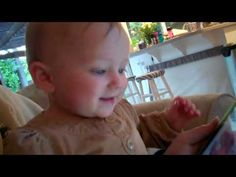 ipad Baby language development