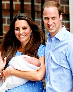 Watch the video of Kate Middleton and Prince William debuting their son!