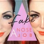 How to Fake a Nose Job • Makeup.com ...very interesting!  I've got a big-ish honker, so it's worth a shot! ;)