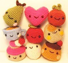 Cute Tiny Amigurumi PDF crochet pattern by anapaulaoli on Etsy, $6.00
