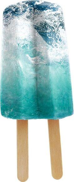 Ocean Popsicle via whiskeysoaked,tumblir and http://pattern-me.tumblr.com/post/20069233363 #Popsicle #Ocean