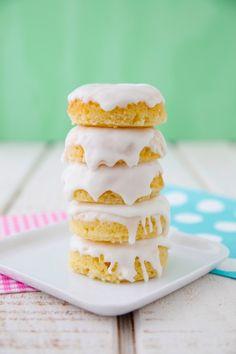 Lemon Pound Cake Mini Doughnuts