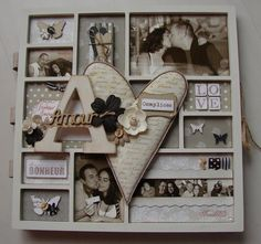 Psine Scrap : Biptyque amour