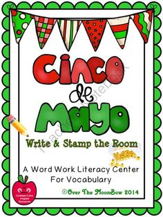 This festive, Cinco de Mayo themed activity pack will help your students practice reading, writing, & learn cultural vocabulary; a perfect complement to your seasonal activities!
