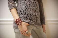amaz style, cloth, 2000 oxblood, etsi, leather cuffs, handcut leather, cuff bracelets, oxblood handcut, leather bracelets