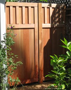 Craftsman Style Gate - I want to start adding some Craftsman touches to our 1970s ranch.