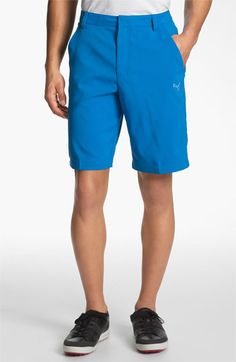 Hit the green: These Puma golf shorts are stylish and functional. Great gift for dad!