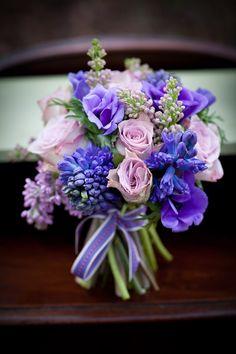 Such pretty purple and lilac tones